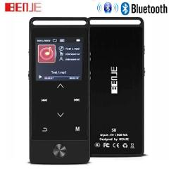 Newest Version Original Touch Button MP3 Player 8GB BENJIE S5B/S8 High Quality Entry-level Lossless MP3 Music Player with FM