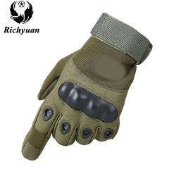 Us Military Tactical Gloves Outdoor Sports Army Full Finger Combat Tactical Gloves Slip-resistant Carbon Fiber Tortoise  Gloves