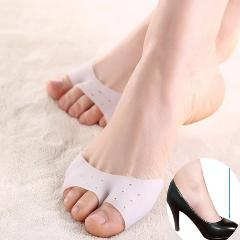 1 Pair Silicone Toe Sleeve Foot Protection Ballet High Heels Hallux Valgus Gel Protective Protector Care Tool Massge Toe Pad
