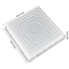 Square Concrete DIY Mold Pavement Plastic Path Maker Mold Paving Cement Brick The Stone Road Paving Moulds Tool For Garden Decor