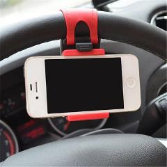 Car Steering Wheel Mount Holder Rubber Band For iPhone iPod MP4 GPS Accessories