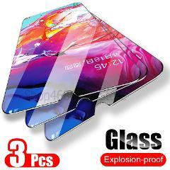 3PCS Tempered Glass For Samsung Galaxy A50 A30 Screen Protector Glass For Samsung Galaxy M20 M30 A20 A20E A40 A80 A70 A60 Glass