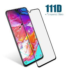111D Coverage Screen Protector for Samsung A20e A10S A20S A30S A40S A50S A70S Tempered Glass for Samsung A6 A7 A8 Plus 2018