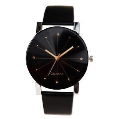 Elegant Quartz Wristwatches Leather Belt couple watch Women Watches Montre de couple Simple Men's Analog Clocks Female New XB40
