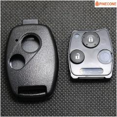 PINECONE for HONDA ACCORD CIVIC CRV ODYSSEY PILOT FIT 2007 2008 2009 2010 2011 2012 2013 Key Case Replacement Key Fob Shell 1 Pc