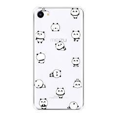 For Meizu 16th 16x 15 Lite 16 Plus Phone Case Silicone Pink Pig Dog Panda Soft Back Cover For Meizu U10 U20 Pro 6 7 Plus Case
