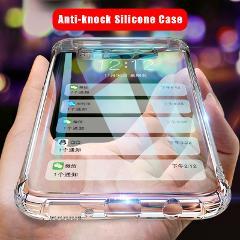 Luxury Anti-knock Silicone Case For Samsung S10 S8 S9 Plus S10E 5G LITE Transparent Cover Case For Samsung S7 Edge Note 8 9 Case