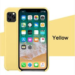 AICSRAD Liquid Silicone Case For iPhone 11 Pro MAX Original Cover For apple iphone 2019 Coque Capa case For iphone XR X XS Max
