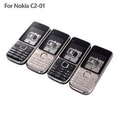 Full Housing Case Cover For Nokia C2-01 Battery Cover + English Keypad + Frame