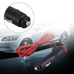 12/24V Male Motor Car Cigarette Lighter Socket Plug Connector On Off Switch ^UP