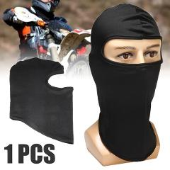 MAYITR Black Ultra-thin Lycra Motorcycle Ski Face Mask Balaclava Cycling Neck Protect Full Face Mask Motorbike Wear Accessories