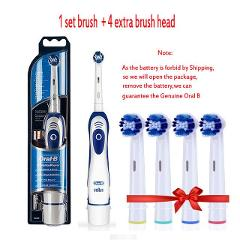 Genuine Oral B Sonic Electric Toothbrush DB4010 Remove Battery Rotating Tooth Brush Precision Clean Braun Teeth Brush Head Adult