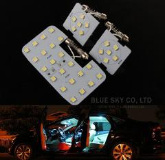 3pcs! White LED Auto Car Reading Interior Light Panel Dome Lamp For KIA RIO K2 2006-2017/Hyundai Solaris Accent