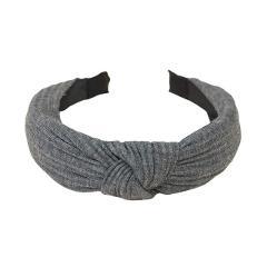 Women Fashion Bow Knot Cross Headband Twist Head Velvet Girl Hair Band Hoop Hair Accessories