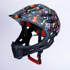Children LED Mountain Mtb Road cycling Helmet Kids Full Face Bike Helmet Bicycle Detachable Pro Protection Cascos Ciclismo