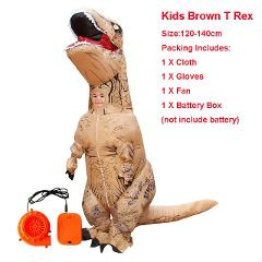Adult Inflatable Costume Dinosaur Costumes T REX Blow Up Fancy Dress Mascot Cosplay Costume For Men Women Kids Dino Cartoon