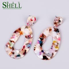 Shell Bay Drop Flower Earrings Jewelry Boho Small Earrings For Women Punk Fashion Earrings Cute Long Earring Pendientes Earings