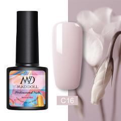 MAD DOLL Solid-color Gel Nail Polish 8ml Soak Off UV Gel Polish Varnish One-shot Pure Nail Color Nail Art Gel Lacque Manicur
