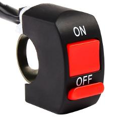 For Honda forza 300 XADV 750 cb 190r 400 1000r Universal Motorcycle Handlebar Flameout Switch ON OFF Button For moto DC12V/10A