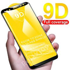 9D Full cover For xiaomi mi a2 lite pcocphone f1 Case Tempered Glass xiomi Mi 8 lite 6 a1 a2 6x Mix 2 2s Screen Protective Film