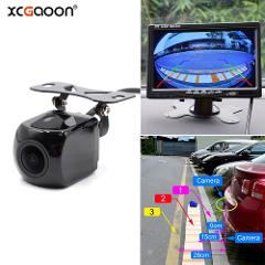 XCGaoon Metal CCD 180 degree Fisheye Lens Car Rear View Camera Night Version Waterproof Wide Angle Backup Camera Parking