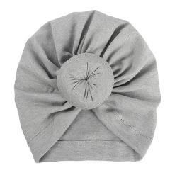 Parent-child Gold Velvet Rabbit Ear Knotted Indian Hat Headgear Hat Baby Boy Girl Turban Cotton Beanie Hat Winter Warm Cap