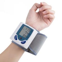 Household Medical pulse Blood pressure gauge LCD Digital Tonometer Automatic blood pressure gauge Tensiometer Bp Heartbeat meter