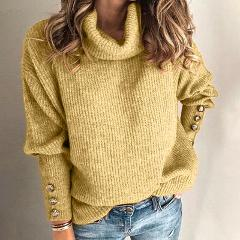 Jumper Pullover Sweater Long Sleeve Knitted Knitwear Oversize Knitting
