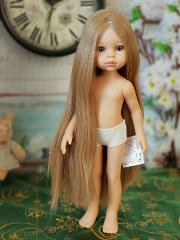 Paola Reina doll. Carla with long hair, 32 sm