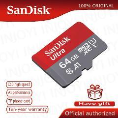 Sandisk Micro SD Card in Memory Card class 10 A1 Flash Memory Card MicroSDHC MicroSDXC UHS-1 MicroSD cartao de memoria