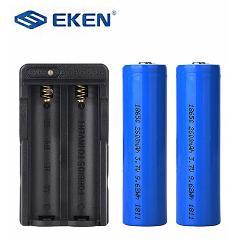 Original EKEN 18650 battery 2600mAh and battery charger