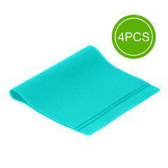 4 pcs/set 30cm*44cm Fashion Refrigerator pad Antibacterial antifouling Mildew Moistureproof Pad Fridge Waterproof Mats