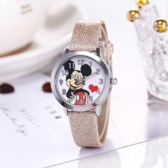 New Luxury Women Watch Cartoon Mickey Minnie Fashion Quartz Watch Boys Girls Wristwatch Kids Watches Cute Clock Relogio Feminino