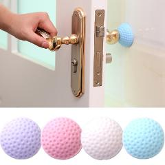 1PCS Silicone Self Adhesive Wall Protectors Door Handle Bumpers Buffer Guard Stoppers Silencer Crash Pad Doorknob Lock