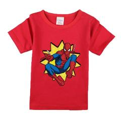 Boys Summer Clothes Children T shirts 2018 Brand Tee Shirt Fille Cotton Tops Kids Clothing Spiderman Pattern Baby Boy T-shirts