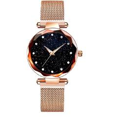 Ladies Watch relojes para mujer Women Wrist Watch Luxury Sta-rry Sky Watch Magnetic Band Women Quartz Wristwatch Diamond Watches