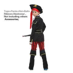 Boy Fantasia Cosplay Clothing pirate Costumes cosplay halloween costume for kids fancy dress carnival costumes for children boys