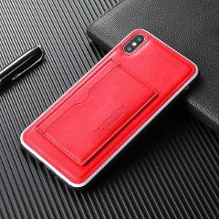 Card Wallet phone case for iphone 6 6S 7 8 plus X XS XR MAX phone panel bracket Bank card slot PU Leather Case For iPhone 7 Plus