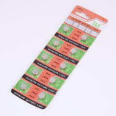 10pcs AG5 AG 5 G5 393A LR48 LR754 15 193 LR48 LR 48 D309 399 1.55V 60mAh Button Cell Coin Batteries battery