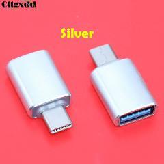 cltgxdd USB Type C to USB 3.0 Converter USB Type-C OTG Adapter for Chromebook Macbook Huawei P9 Xiaomi 4C Nexus 5X 6P LG G5