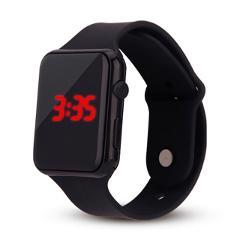 Man Woman LED Electronic Sport Watch Luminous Sensor LED Student Adult Couple Electronic Watch With Shell Adjustment Watch L58