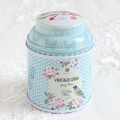 Europe Type Style Tea Caddy Receive Box Candy Storage Box Wedding Favor Tin Box Cable Organizer Container Household V3677