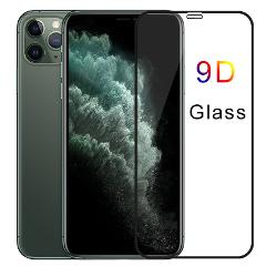 9D Protective Glass for iPhone 7 8 6 6S Plus 5 5S SE Tempered Glass for iPhone X XR XS Screen Protector for iPhone 11 Pro Max HD