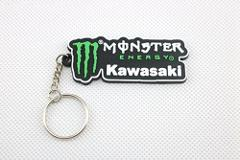 3D Motorcycle Accessories Motorcycle KeyChain Rubber Motorcycle Key Chain For KAWASAKI Locomotive model