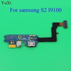 YuXi New USB Charger Connector Jack Socket Dock Flex Cable For Samsung Galaxy S2 I9100 GT-I9100 Charging Port Flex Cable