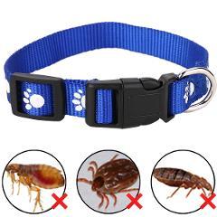 1pc Adjustable Cat Anti Flea Tick Louse Collar Cat Protection Neck Ring Collar Nylon for Small Big Cat Color Random