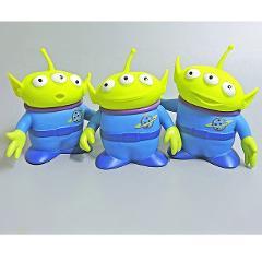 3pcs/lot 15cm Toy Story Alien Figures PVC Alien Action Figure Doll Anime Kids Toys with Opp Bag