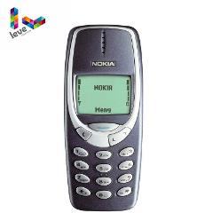 Used Nokia 3310 GSM 900/1800 Support Russian& Arabic Keyboard Multi-Language Free Shipping Unlocked Refurbished Cell Phone