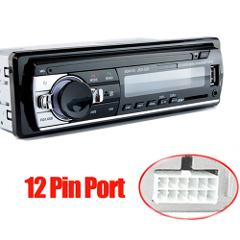 Hippcron Car Radio Stereo MP3 Player Digital Bluetooth 60Wx4 FM Audio Music USB / SD with In Dash AUX Input
