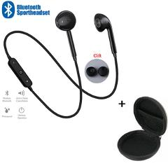 Sport Neckband Wireless Earphone Music Earbuds Headset Handsfree Bluetooth Earphones with Mic For All Phones For Samsung Huawei